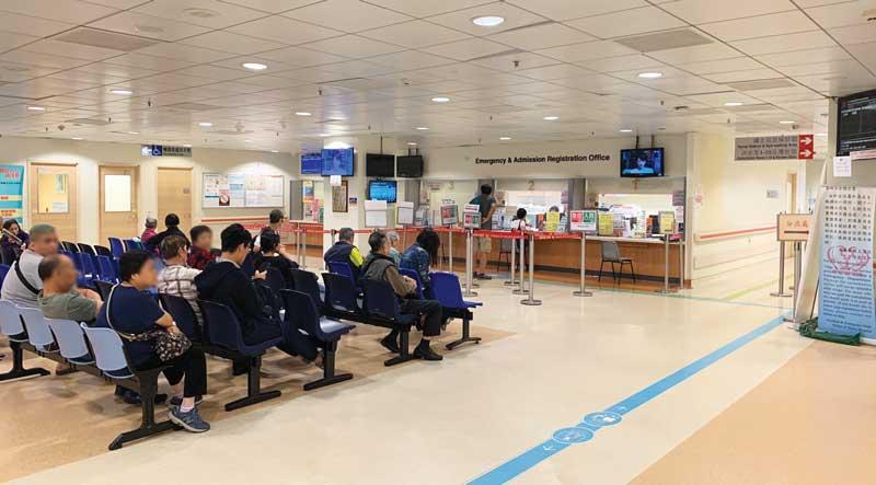 工作站設於急症室中央