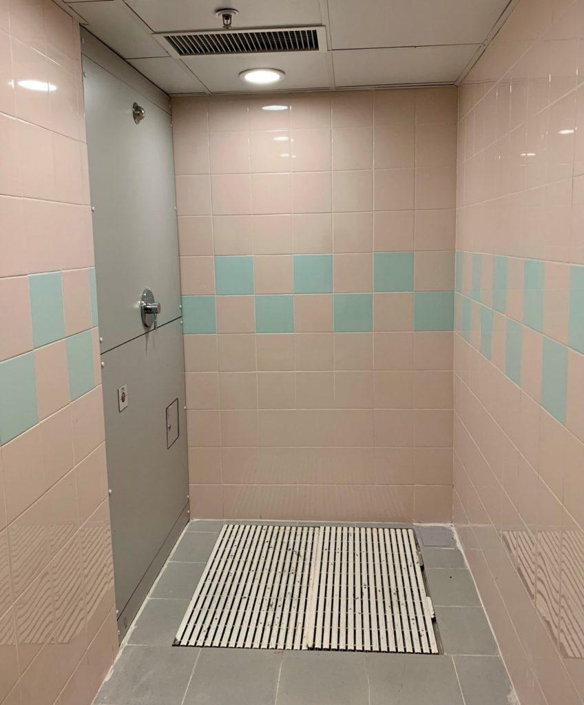 生化核污染的清洗室